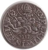 10 Pfennig (Laufen) [Bezirksamt, Bayern] – avers