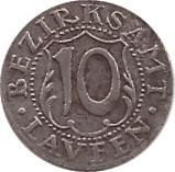 10 Pfennig (Laufen) [Bezirksamt, Bayern] – revers