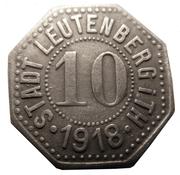 10 pfennig (Leutenberg) – avers