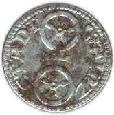10 pfennig (Mainz Hessen) – avers