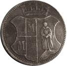 10 pfennig (Münchberg) – revers