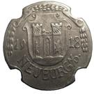 10 pfennig (Neuburg an der Donau) – avers