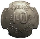 10 pfennig (Neuburg an der Donau) – revers