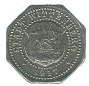 10 pfennig (Wittenberg) – avers