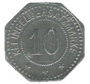 10 pfennig (Wittenberg) – revers