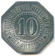 10 pfennig (Wittenberge) – avers