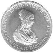 100 Mark (Westfalen; Annette von Droste-Hülshoff) – revers