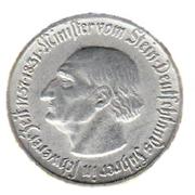 1 mark (Westfalen; Freiherr vom Stein) – revers