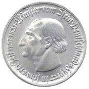 5 Mark (Westfalen; Freiherr vom Stein) – revers