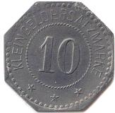 10 Pfennig (Torgau) – revers