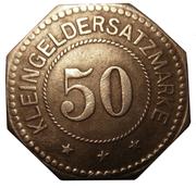 50 pfennig (Ilmenau) – revers