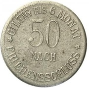 50 Pfennig Marktleuthen – revers