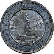 50 Pfennig Mettmann – avers