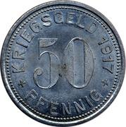 50 Pfennig Mettmann – revers