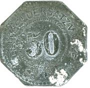 50 pfennig 1917 PIRMASENS – revers