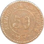 50 Pfennig (Schonlanke) – revers