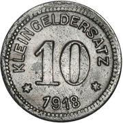 10 Pfennig (Querfurt) -  revers