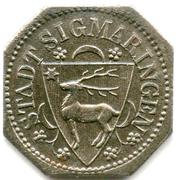 10 Pfennig (Sigmaringen) -  avers