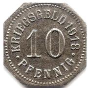 10 Pfennig (Sigmaringen) -  revers