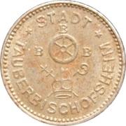 10 Pfennig (Tauberbischofsheim) – avers