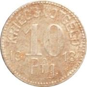 10 Pfennig (Tauberbischofsheim) – revers