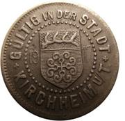 10 pfennig (Kirchheim unter Teck) – avers