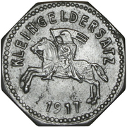 10 pfennig nécessité (Marburg) – revers