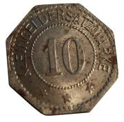 10 pfennig (Oschersleben) -  revers