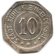 10 Pfennig (Suhl) – avers