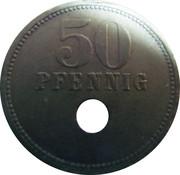 50 Pfennig (Osterburg) – revers