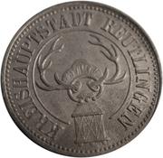 50 pfennig (Reutlingen) – avers