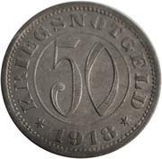 50 pfennig (Reutlingen) – revers