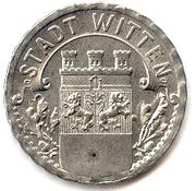 50 pfennig (Witten) – avers