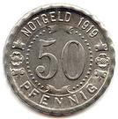 50 pfennig (Witten) – revers