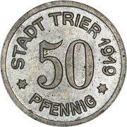 50 Pfennig (Trier) – avers
