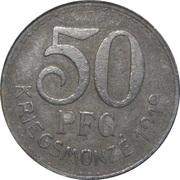 50 Pfennig (Neckarsulm) – revers