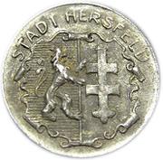 50 pfennig (Hersfeld) – avers