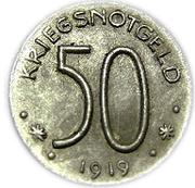 50 pfennig (Hersfeld) – revers