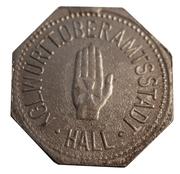 10 pfennig (Schwäbisch Hall) – avers
