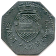 10 pfennig (Hamm) -  avers