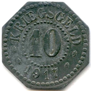 10 pfennig (Hamm) -  revers