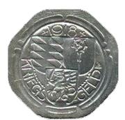 10 pfennig (Oberndorf) – revers