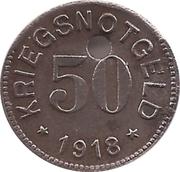 50 Pfennig (Kornwestheim) [Stadt, Württemberg] – revers