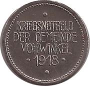 50 Pfennig (Vohwinkel) [Gemeinde, Rheinprovinz] – avers
