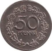 50 Pfennig (Vohwinkel) [Gemeinde, Rheinprovinz] – revers