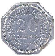 20 Pfennig (Lichtenfels) [Stadt, Bayern] – avers