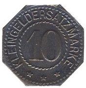 10 Pfennig (Stendal) [Stadt, Provinz Sachsen] -  revers