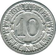 10 Pfennig (Lippstadt) [Kreis, Westfalen] – revers