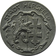 5 Pfennig (Hersfeld) [Stadt, Hessen-Nassau] – avers