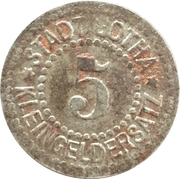 5 Pfennig (Gotha) [Stadt, Sachsen-Coburg] – revers